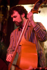 Jim McCuen on the bass